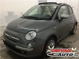 Fiat 500 Lounge Convertible Cuir A/C MAGS 2012
