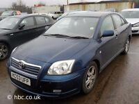 TOYOTA AVENSIS 2.2 D4D BREAKING FOR SPARES TEL 07814971951 WE HAVE FEW IN STOCK PLEASE CALL