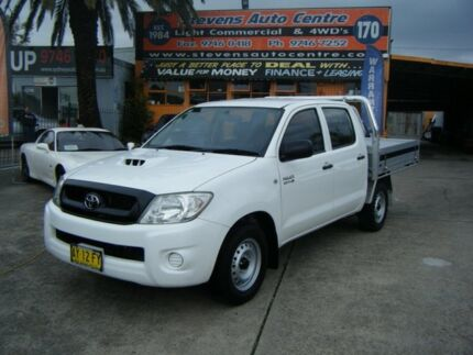 2008 Toyota Hilux KUN16R 08 Upgrade SR White 5 Speed Manual Homebush Strathfield Area Preview