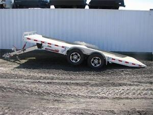 H&H 8.5 x 18' MXA Aluminum Speed Loader Manual Tilt Bed