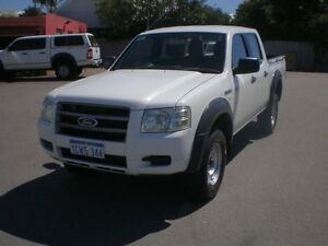 2008 Ford Ranger PJ 07 Upgrade XL (4x2) White 5 Speed Automatic Dual Cab Pick-up Victoria Park Victoria Park Area Preview