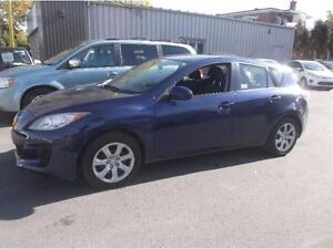2012 MAZDA 3 GX HATCHBACK, AIR, GR.ELECT $6495