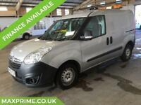 2013 63 VAUXHALL COMBO VAN 1.3 CDTI SILVER ECOFLEX 1 OWNER + JUST SERVICED