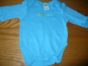 Old Navy 0-3 Month Long Sleeve Onezie