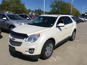2015 Chevrolet Equinox LT AWD Leather sunroof Navigation 32000km