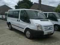 FORD TRANSIT TOURNEO 125 T280 TREND 9 SEATER WITH AIR CON 2012(12) 93,000 MILES