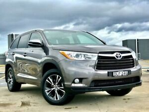 2016 Toyota Kluger GSU50R GXL 2WD Grey 6 Speed Sports Automatic Wagon Blacktown Blacktown Area Preview
