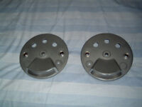 New Ceriani replica brake plates to fit Grimeca 230mm twin leading shoe front brake