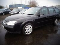 2007 07 reg for mondeo 1.8 lx estate mot to 16/12/2017 ex we car £995