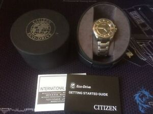 Citizen Eco-Drive Super Titanium/ Sapphire Crystal NEW