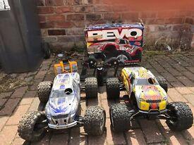 Traxxas Revo 3.3 and Traxxas Revo 2.5