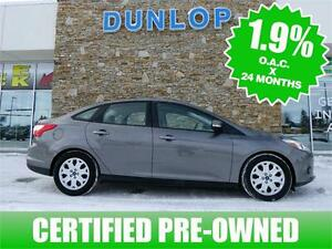 2014 FORD FOCUS CERTIFIED PRE-OWNED 1.9% for 72 months!!!