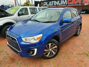 2015 Mitsubishi ASX 2WD XB MY15 LS Blue 6 Speed Automatic Wagon Parramatta Park Cairns City Preview
