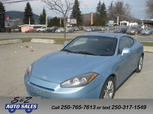 2007 Hyundai Tiburon 96000 km! Local one owner ! REDUCED!