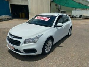 2016 Holden Cruze JH MY16 Equipe White 6 Speed Automatic Hatchback Holtze Litchfield Area Preview