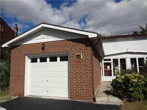 Updated Semi Detached Home In Prime North York Location!