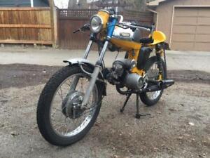 1967 Yamaha YL2 Cafe Racer Cool fun classic