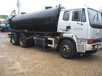 Leyland DAF 6 x 4 Fitted 3000 Gallon Whale Vacuum Tank