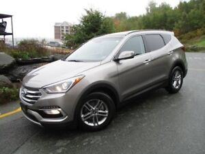 2018 HYUNDAI SANTA FE SE AWD (LEATHER, PANORAMIC ROOF, HEATED SE