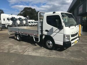 2016 MITSUBISHI FUSO CANTER 515, 150HP, 5 SPEED MANUAL TRANSMISSION, 4.5M ALLOY TRAY WITH DROP SIDES Milperra Bankstown Area Preview