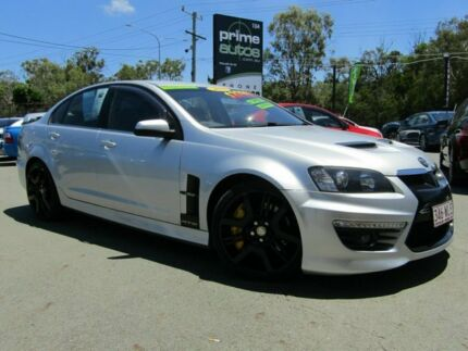 2010 Holden Special Vehicles GTS E3 Silver 6 Speed Auto Active Sequential Sedan Underwood Logan Area Preview