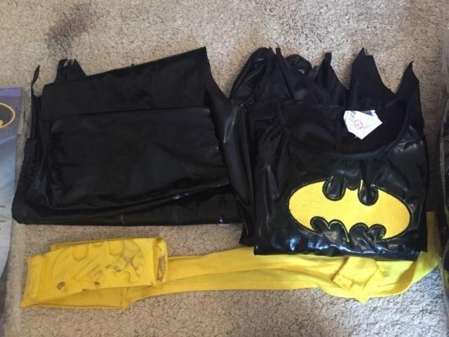 Batgirl costume age 8-10