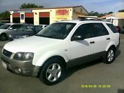 2005 Ford Territory SY TS (RWD) White 4 Speed Auto Seq Sportshift Wagon Coopers Plains Brisbane South West Preview