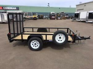 NEW 2018 SURE-TRAC 6' X 10' TUBE TOP UTILITY TRAILER
