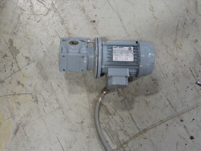 Ber Mar 0.35hp 1690rpm 346600v Tefc 3ph 0.90.5a Cw Gearbox 201 Ratio Used