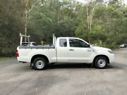 2014 Toyota Hilux GGN15R MY14 SR EXTENDED CAB White Automatic Utility Springwood Logan Area Preview