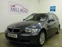 BMW 3 SERIES 2.0 320D SE TOURING 5d 161 BHP FULL SERVICE HISTOR (grey) 2006
