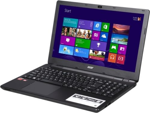 """Acer Notebook E5-521-89GN 15.6"""" AMD A-Series A8-6410 (2.00GHz) 1TB HDD 6 GB DDR3"""