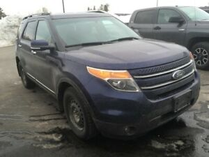 2011 Ford Explorer LIMITED w/SONY AUDIO, HEATED LEATHER, REMOTE