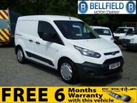 FORD TRANSIT CONNECT 220 DCB FACTORY CREW VAN (white) 2015
