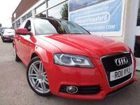 Audi A3 1.6TDI Sportback Tronic 2011 S Line F/S/H P/X (Reduced £7495.00)