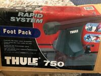 Thule 750 foot pack & fitting Kit 1019 for Audi A4 4 Door 95- Audi A4 Avant 96-