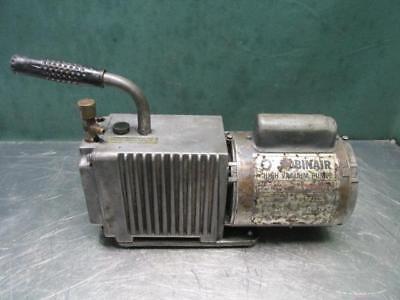 Robinair 15101-b High Vacuum Pump 5 Cfm 115 Volt Ph 1