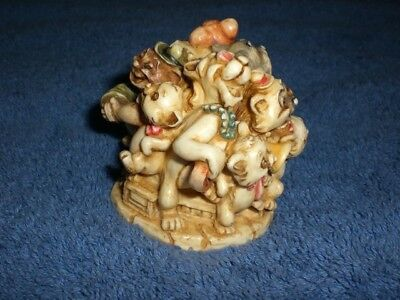 Disney 2000 Harmony Kingdom ARISTOCATS DUCHESS O'MALLEY MARIE BERLIOZ  Figurine