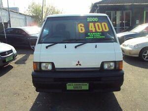 2000 Mitsubishi Express SJ SWB White 5 Speed Manual Van Punchbowl Canterbury Area Preview