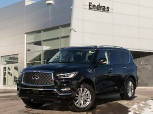 2018 INFINITI QX80 DEMO|7-Passenger|Navigation|360 Camera|DVD|He