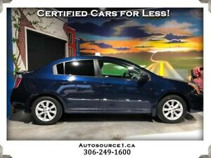 2012 Nissan Sentra 2.0 S w/Luxury Pkg | SUNROOF | LOADED