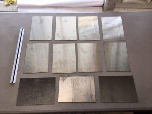 18 gauge Stainless steel scrap (304/316) HHO (TIG/MIG) (11 pcs)