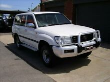 1999 Toyota Landcruiser FZJ105R RV (4x4) White 5 Speed Manual 4x4 Wagon Holden Hill Tea Tree Gully Area Preview