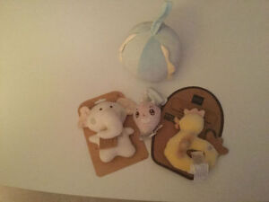 Wanting Organic for Lil One? Take all 6 New Organic Baby Toys$45