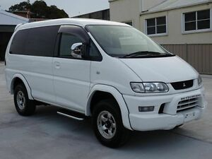 2005 Mitsubishi Delica Spacegear High Roof 7st White 4 Speed Automatic Wagon Taren Point Sutherland Area Preview