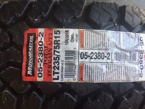 2 Brand New Motomaster tires NEVER USED