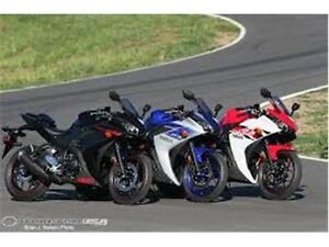 2015 Yamaha R3's in STOCK !!