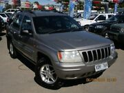 2000 Jeep Grand Cherokee WJ Limited Silver 5 Speed Automatic Wagon Gepps Cross Port Adelaide Area Preview