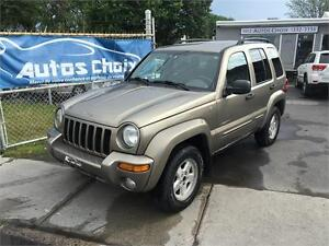 JEEP LIBERTY LIMITED 4X4 2004 **TOUT EQUIPE**