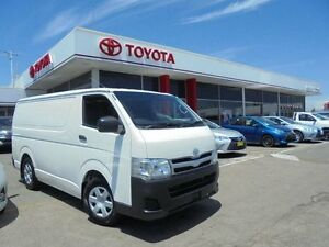 2012 Toyota Hiace TRH201R MY11 Upgrade LWB French Vanilla 4 Speed Automatic Van Belmore Canterbury Area Preview